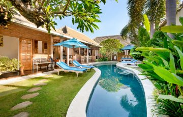 1, 2, 3, 4 & 5 bedroom villas for rent seminyak | bali villa escapes