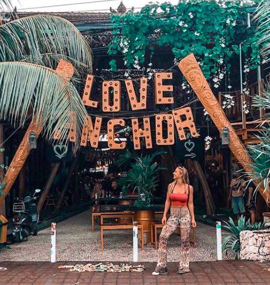 love anchor local market in Canggu