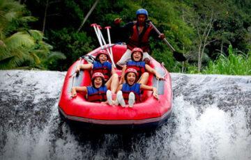 white water rafting - Bali tours