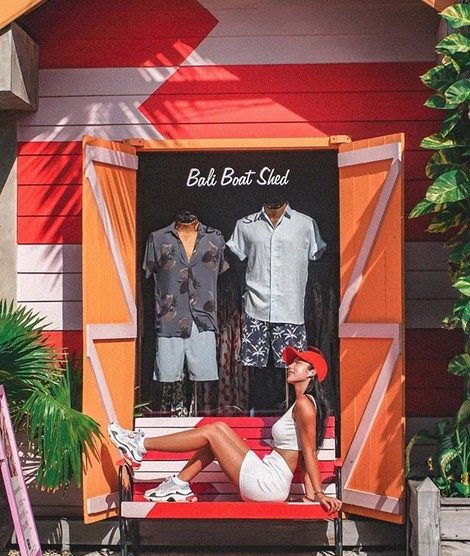 shopping for men in bali boat shed