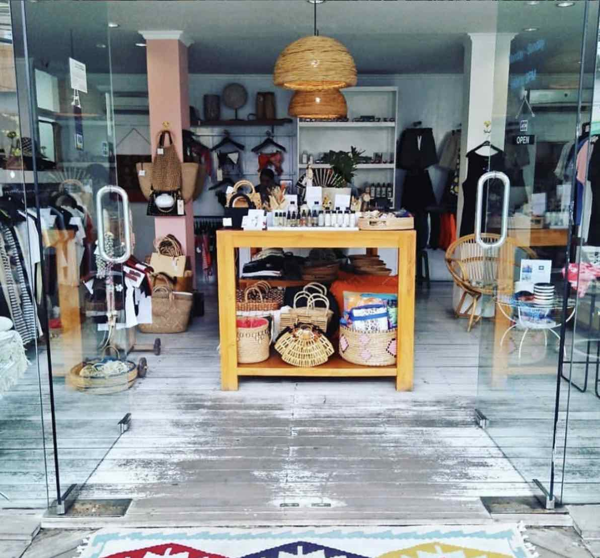 shopping for the girls in Seminyak - little island store