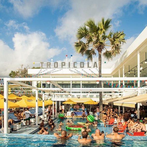 tropicola seminyaks beach clubs