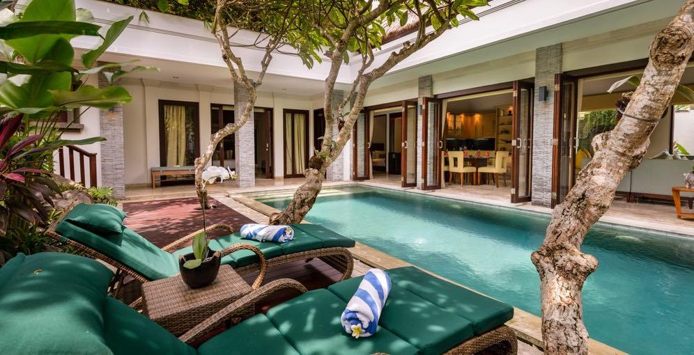 Seminyak Bali Villas - Siam Villa - Exterior Pool