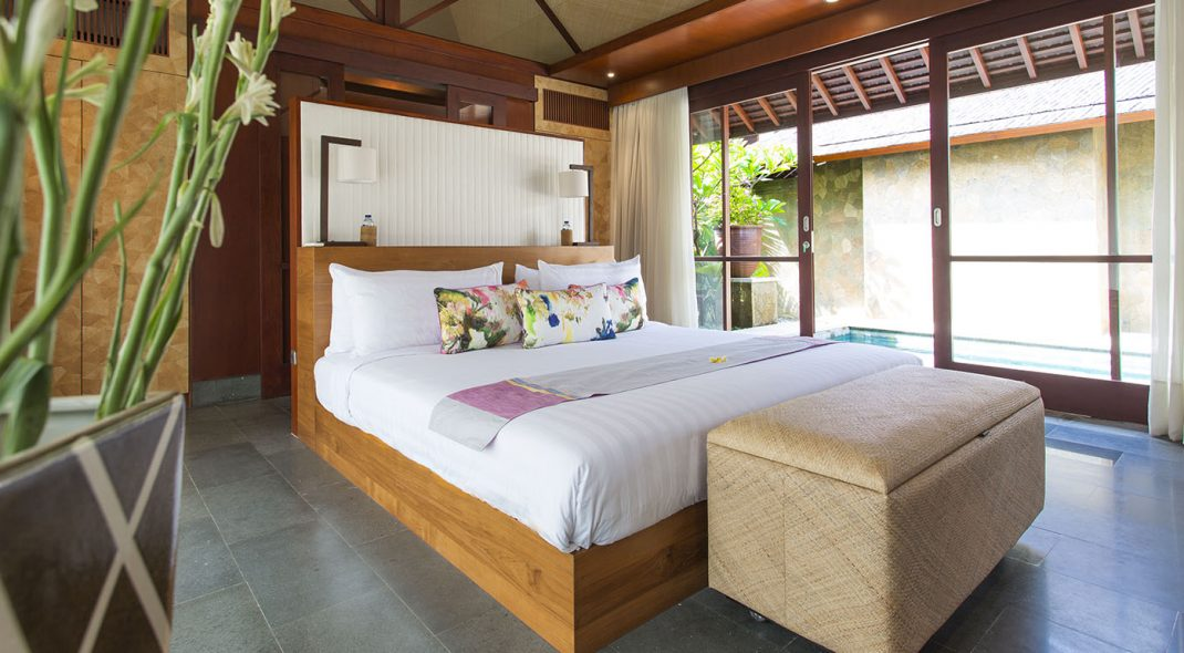 Villa Bayu Gita Beachfront Bali Sanur - Master suite two