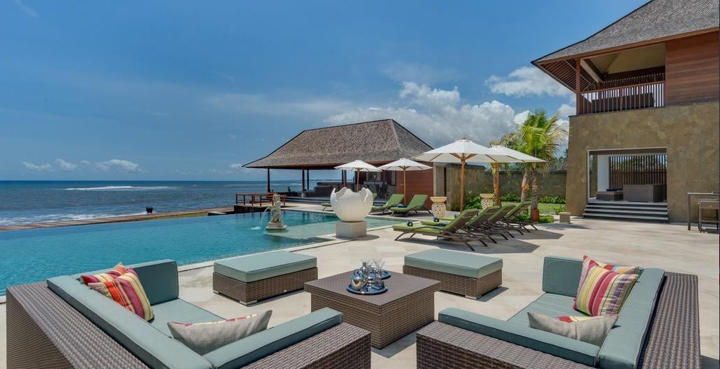 Villa Bayu Gita Beachfront Bali Sanur - outdoor lounge