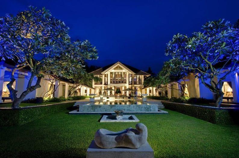 Bali Villas Sanur - Villa Ylang Ylang house front