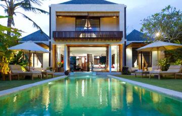 Villa Majapahit Nataraja pool front - Bali Sanur Villas
