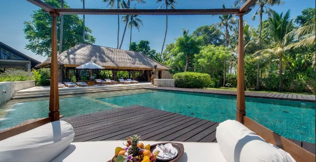 Bali Sanur - Villa Samadhana pool deck