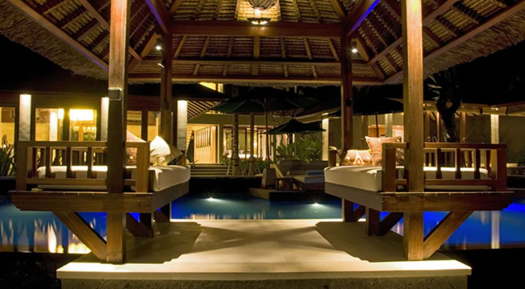 Sanur Bali Villas pool evening - Villa Puri Awani