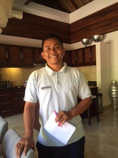 friendly balinese staff in your villa