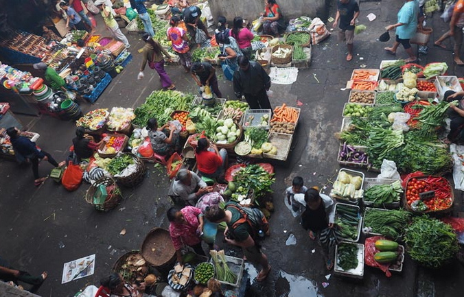 shop at local markets in bali