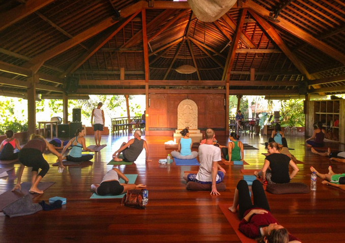 Yoga in bali legian