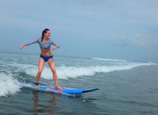 Surfing Kuta BEginners Bali
