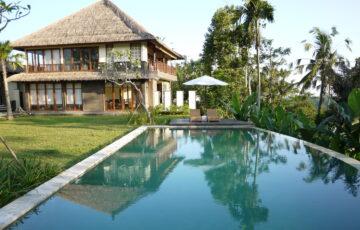 Ubud Bali Villas - pool view Villa Vastu
