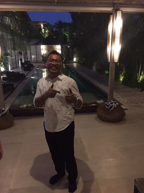 happy villa staff