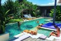 seminyak villas - villa mana, fun times by the pool