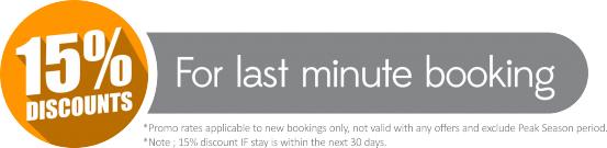 last minute booking for bali villa