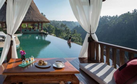 honeymoon restaurants ubud