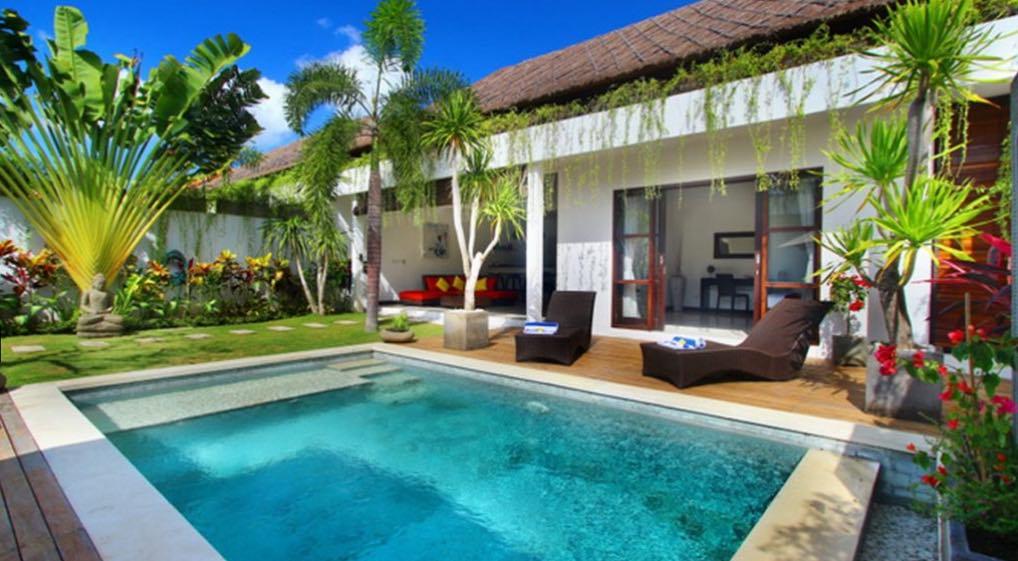 villa calypso - budget villa seminyak bali