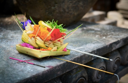 Canang Sari offerings