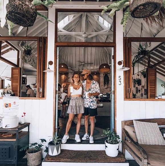 where to eat in canggu, bali - the shady shack
