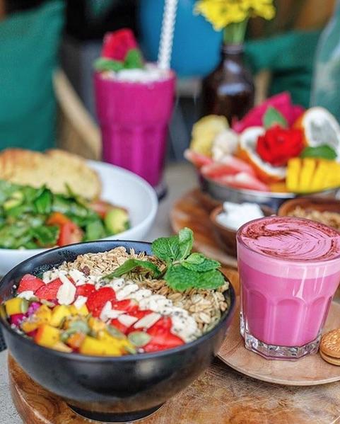 botanik organic cafes in bali