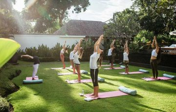 bali yoga villa retreats - bali villa escapes