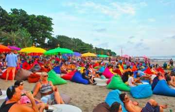 double six beach area in Seminyak