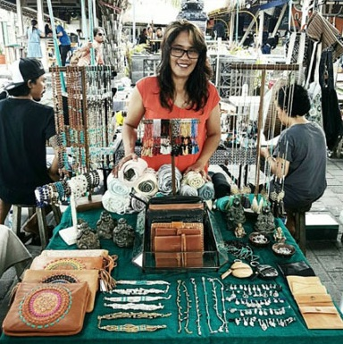 hipster markets in canggu
