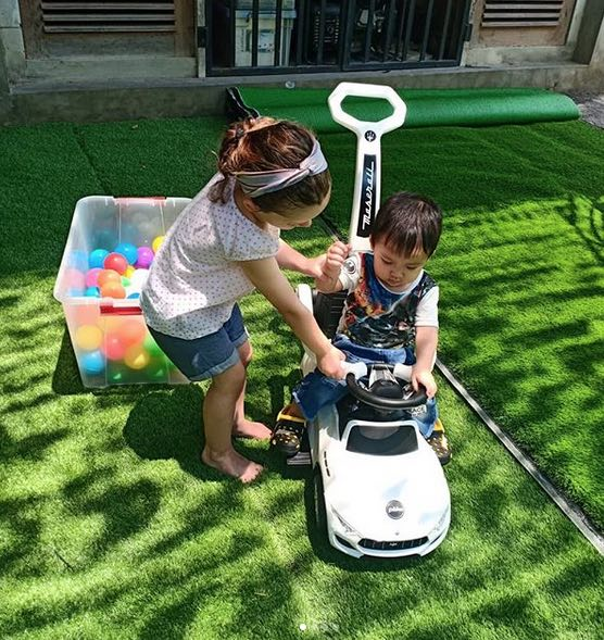 Cafes with kids' playground in Bali