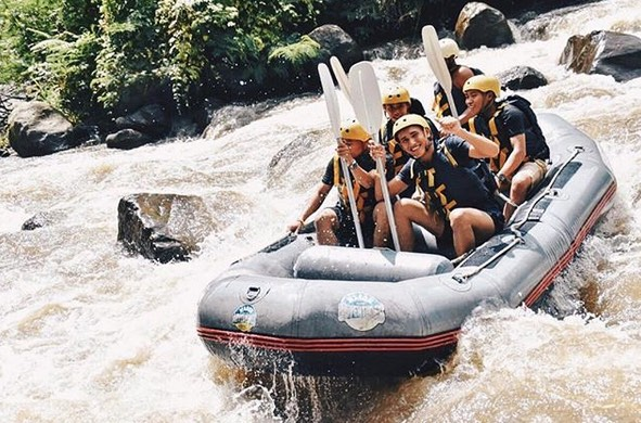 white water rafting in ubud