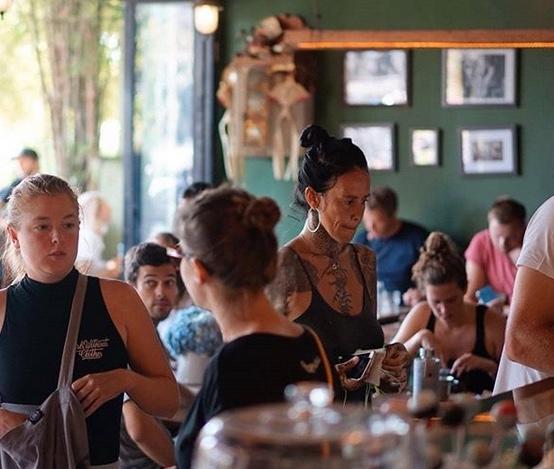 coffee n oven bestt cafes in canggu