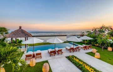 villa oceana beachfront villa east of bali