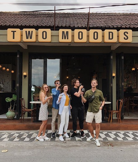 Two Moods best cafes in canggu