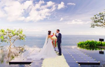 bali clifftop wedding villas