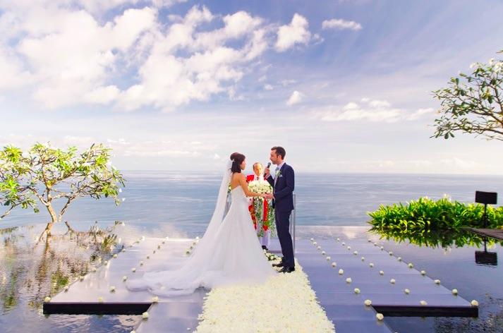 bali clifftop wedding villas