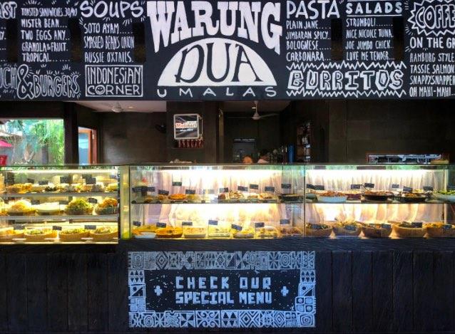 umalas cafes warung dua