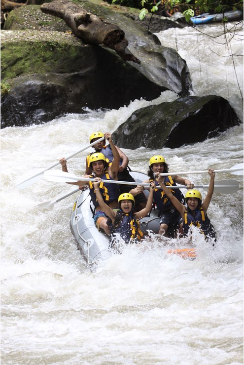 fun for the group bali white water rafting tours