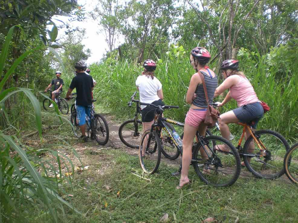 mountain cycling tours - bali tours