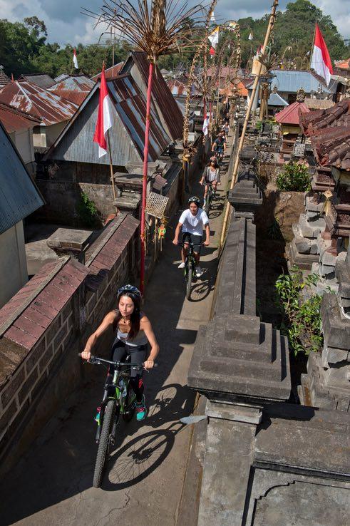 bali tours mountain cycling tours