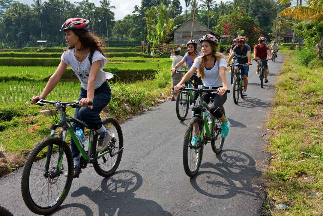 mountain cycling tours bali tours