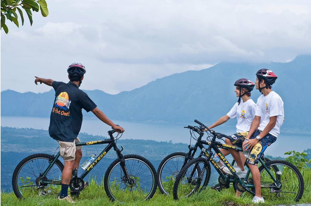 mountain cycling tours - bali tours