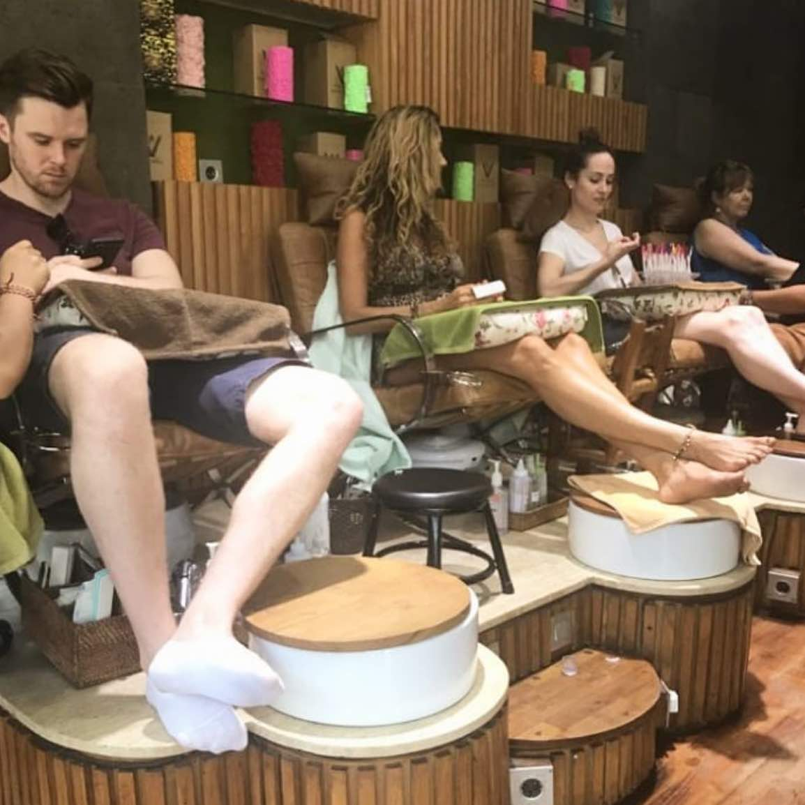vive salon and spa in ubud bali - where to get your hair and nails done