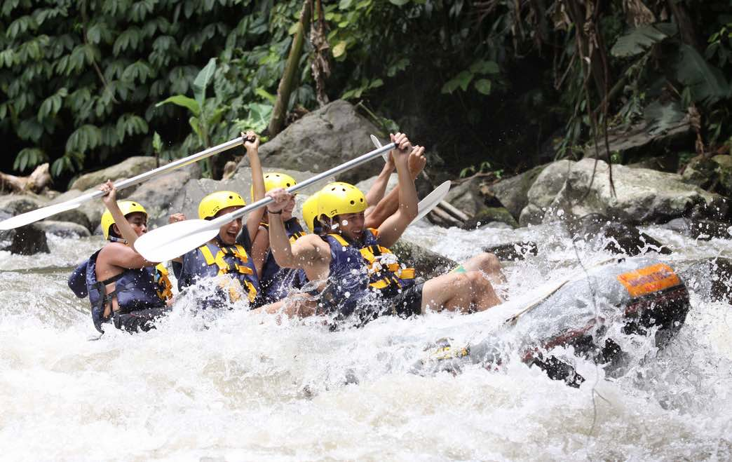 bali tours white water rafting