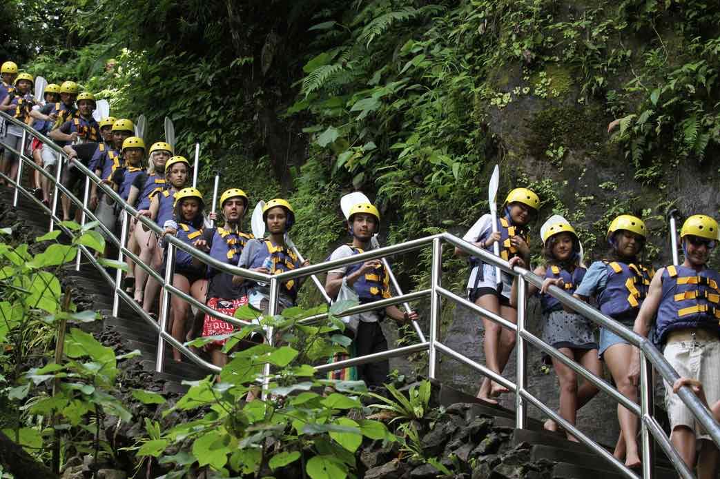 bali tours white water rafting tours