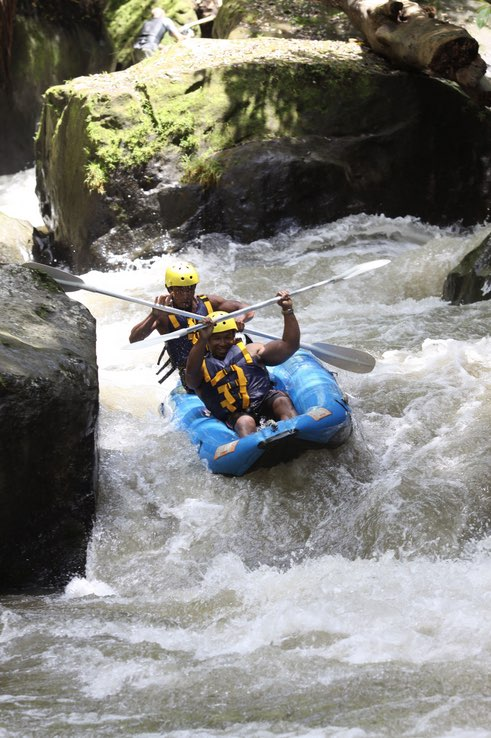 bali tours white water rafting