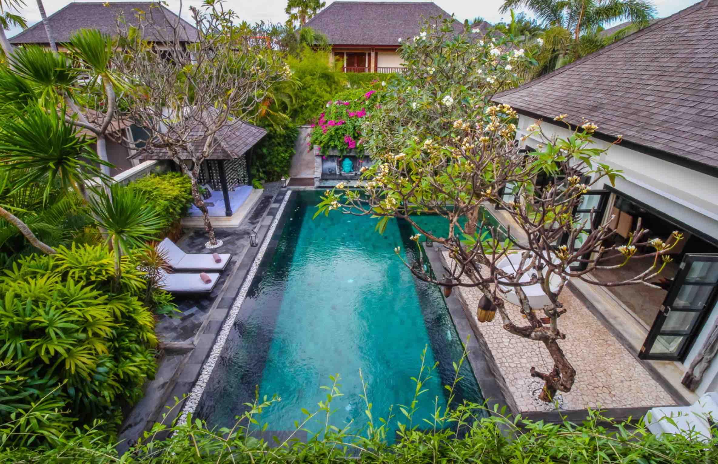 villa senang at the residence - villas to rent near the blow bar seminyak