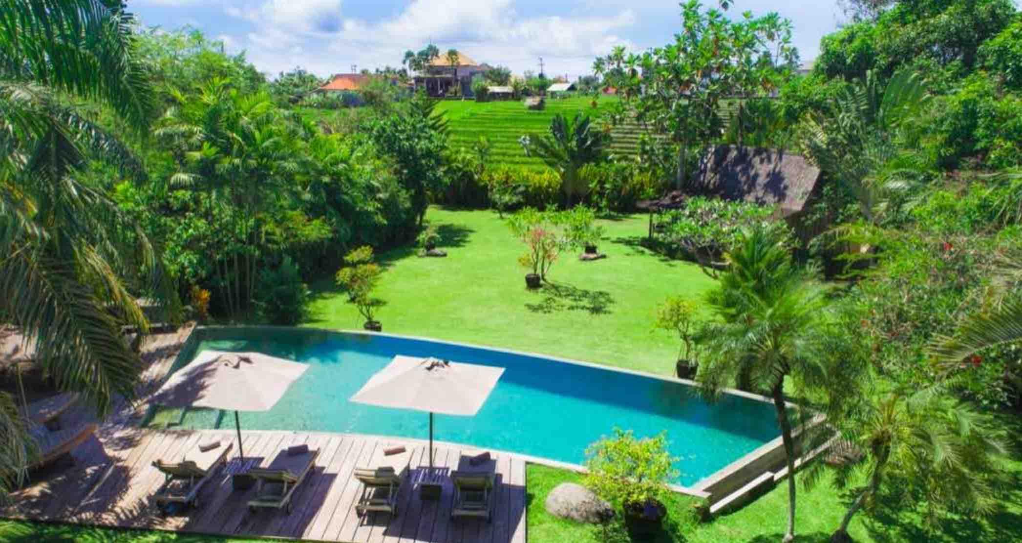 where to stay in Bali - villa galante umalas
