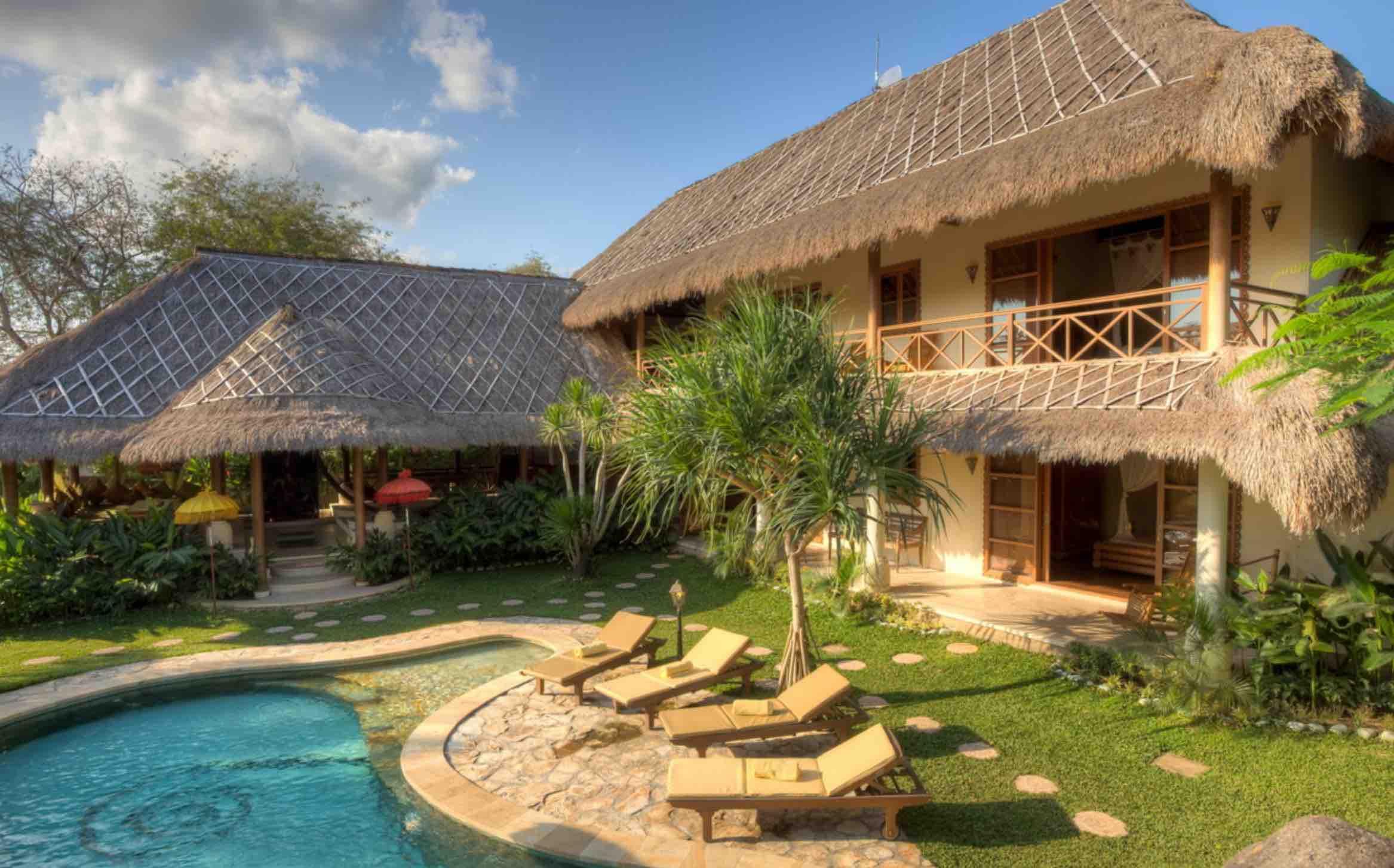 where to stay in Bali - villa santai in umalas