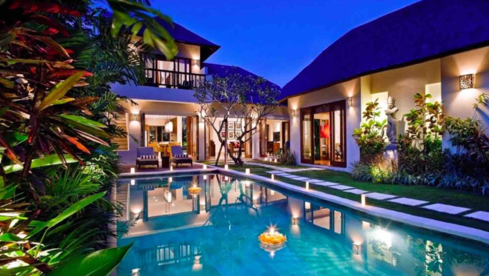 where to stay in Bali - villa songket in umalas